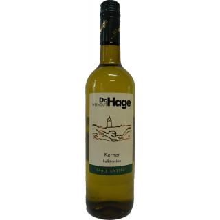 2019 Kerner QbA halbtrocken - Weingut Dr. Hage