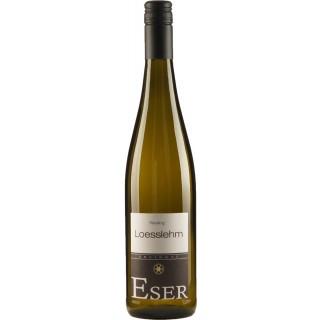 2015 Lößlehm Riesling QbA Trocken - Weingut H.T. Eser