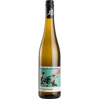 2019 Briedeler Herzchen Riesling trocken - Weingut C.A. Immich-Batterieberg