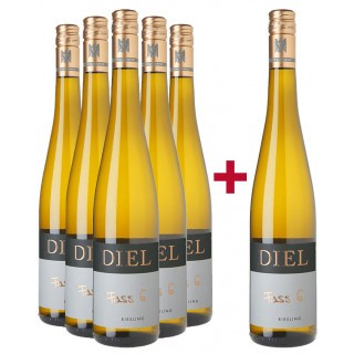 5+1 Riesling Fass 6 Paket - Schlossgut Diel