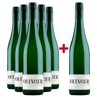 5+1 Olinger Sylvaner Paket - Gebrüder Müller-Familie Olinger