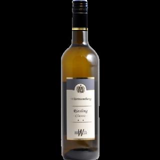 2019 Württemberger Riesling Classic trocken - Weinkellerei Wangler