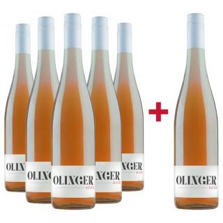5+1 Sommerwein-Paket Secco Rosé - Gebrüder Müller-Familie Olinger