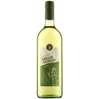 2020 VIER SCHOPPEN Müller-Thurgau Qualitätswein trocken 1,0 L - Winzergemeinschaft Franken eG