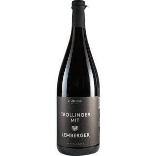 2018 Trollinger mit Lemberger halbtrocken 1L BIO - Weingut Zimmerle