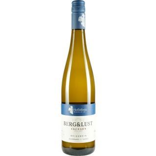 2020 BERG&LUST Weißwein halbtrocken - Weingut Hoflößnitz