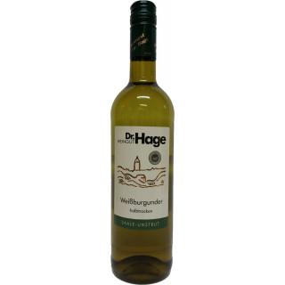 2017 Weißburgunder QbA halbtrocken - Weingut Dr. Hage