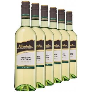 """2019 """"Winzer-Edition"""" Riesling Spätlese trocken (6 Flaschen) - Affentaler Winzer"""