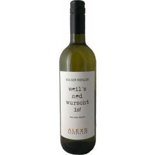 2018 Golser Riesler trocken - Weingut ALEXS