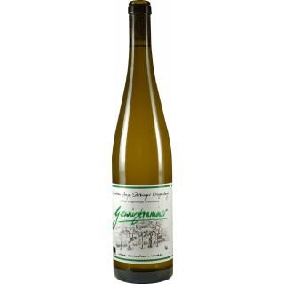 2018 Klingenberger Schlossberg Gewürztraminer Spätlese halbtrocken - Weinbau Stritzinger