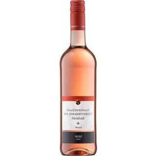 2020 Pfalz Rosé halbtrocken - Staatsweingut mit Johannitergut