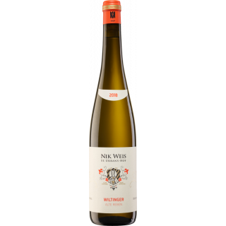 2018 Wiltinger Riesling Alte Reben trocken - Weingut Nik Weis - St. Urbans-Hof