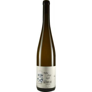 2016 Riesling Alte Reben Ritter Platt 1496 halbtrocken - Weingut Burgkeller