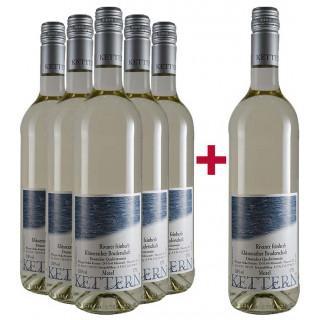 5+1 Rivaner feinerb Paket - Weingut Heiko Kettern