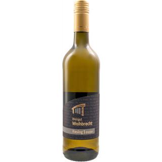 2018 Riesling S trocken - Weingut Weihbrecht