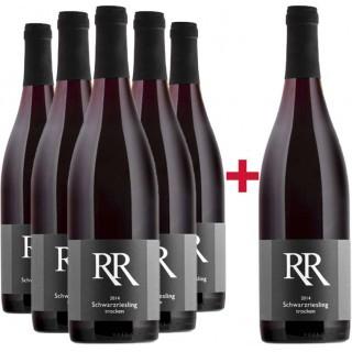 5+1 Paket Schwarzriesling trocken - Weingut Richard Rinck