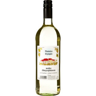 weißer Glühwein 0,5 L - Weingut Schulze