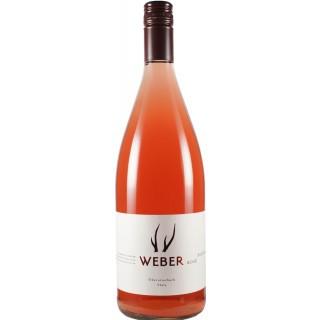 2020 Portugieser Rosé Gabler halbtrocken 1,0 L - Weingut Weber