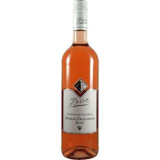 2019 Muskat-Trollinger Rosé feinherb Bio - Weingut Halter