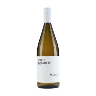 2020 Grauer Burgunder trocken 1,0 L - Wein- und Sektgut Weber