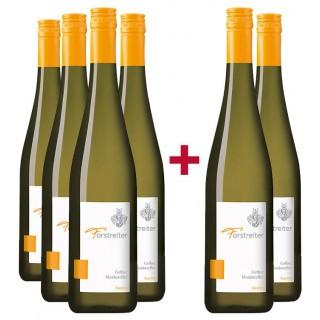 4+2 Paket Gelber Muskateller  - Weingut Forstreiter