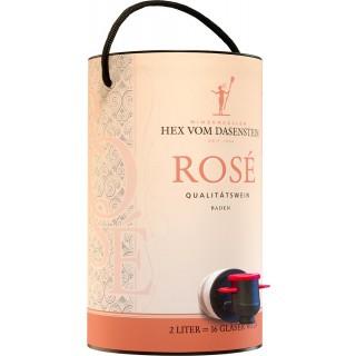 2017 Rosé Qualitätswein - in der 2,0l BAG in TUBE Weinschlauch - Winzerkeller Hex vom Dasenstein