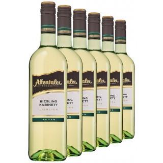 """2019 """"Winzer-Edition"""" Riesling Kabinett lieblich (6 Flaschen) - Affentaler Winzer"""