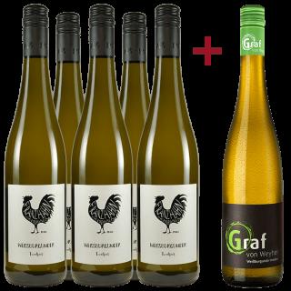 Jungwinzer Weißburgunder Paket - Weingut Franz Hahn / Gut Wehyer