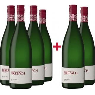 4+2 Paket Riesling trocken 1L - Kloster Eberbach