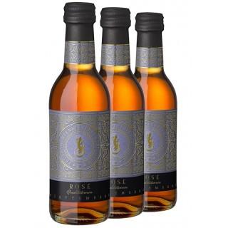 3x Junge Cuvéeschmiede Rosé QbA feinherb 0,25L (3 Flaschen) - Felsengartenkellerei Besigheim