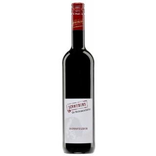 2018 Dornfelder Rotwein feinherb - Weingut Weinmanufaktur Schneiders
