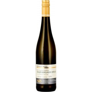 2018 Grauer Burgunder Spätlese Weißwein trocken Nahe Kreuznacher Rosenberg - Weingut Mees