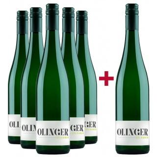 5+1 Olinger Sylvaner-Paket - Gebrüder Müller-Familie Olinger