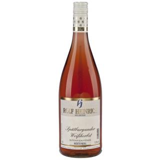 2019 Spätburgunder Weissherbst Qualitätswein feinherb 1,0 L - Weingut Rolf Heinrich