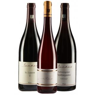 Rotweinpaket zu Lamm - Weingut Bernhart