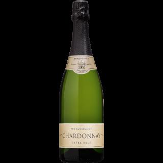 2018 Burkheimer Schlossgarten Chardonnay Sekt b. A. extra brut - Burkheimer Winzer