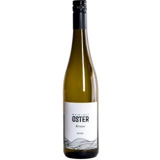 2019 Rivaner halbtrocken - Weingut Oster