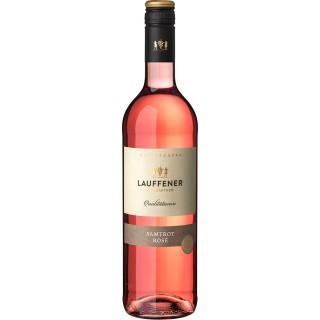 2019 Württemberger Samtrot Rosé halbtrocken - Lauffener Weingärtner