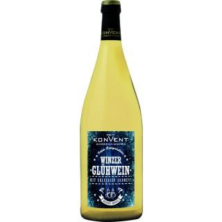 Winzerglühwein weiß 1L Qba lieblich - Weinkonvent Dürrenzimmern eG