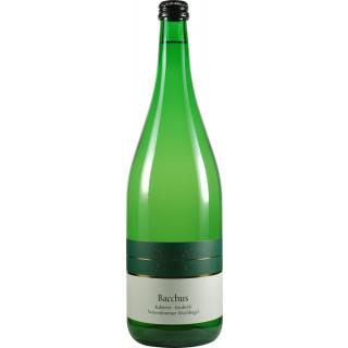 2020 Wiesenbronner Wachhügel Bacchus Kabinett feinherb 1,0 L - Weinbau Hofmann