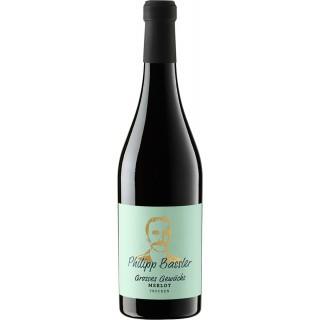 2018 Philipp Bassler Großes Gewächs Merlot trocken - Weinbiet Manufaktur