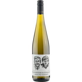 2019 Brauneberger Klostergarten Kabinett Riesling fruchtsüß - Weingut Klosterhof