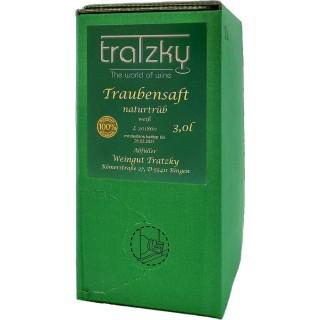 Traubensaft naturtrüb weiß 3,0 L - Weingut Tratzky