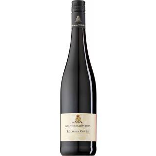2017 Rotwein Cuvée trocken - Graf von Schönborn - Weingut Schloss Hallburg