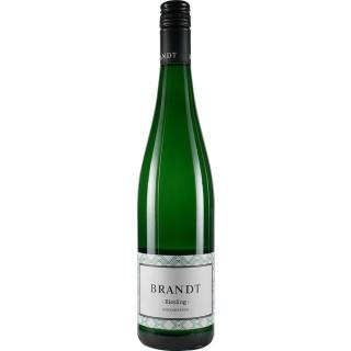 2018 Riesling feinherb - Weingut Brandt