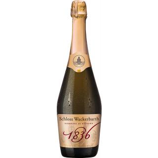 Hommage 1836 rosé extra trocken Deutscher Sekt b.A. Sachsen Klassische Flaschengärung - Sächsisches Staatsweingut Schloss Wackerbarth