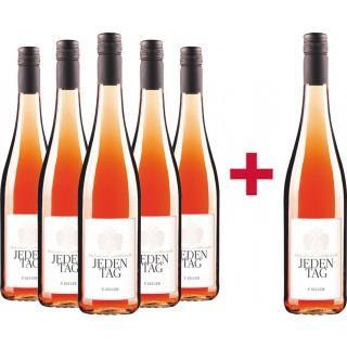 JEDENTAG Cuvée Saignée Rosé unfiltriert - Weingut Franz Keller