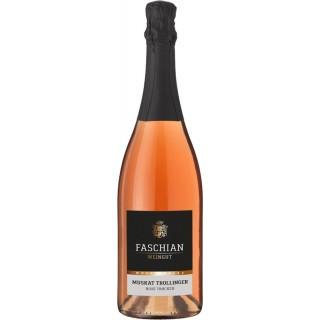 2016 Muskat-Trollinger Rosé Sekt trocken - Weingut Faschian