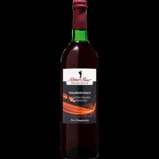 Traubenpunsch rot alkoholfrei 0,7L - Roter Bur Glottertäler Winzer