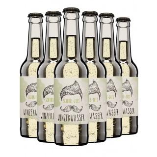 Schorle JOEs Winzerwasser Weinschorle trocken 0,33L (6 Flaschen) - Weingut Eckehart Gröhl